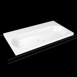 Umyvadlo na desku Kaldewei Centro 3056 90x50 cm alpská bílá bez otvoru pro baterii, bez přepadu 902906003001