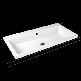 Umyvadlo na desku Kaldewei Puro 3155 90x46 cm alpská bílá bez otvoru pro baterii 900506003001