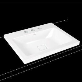 Umyvadlo na desku Kaldewei Cono 3083 60x50 cm alpská bílá bez přepadu 901906033001