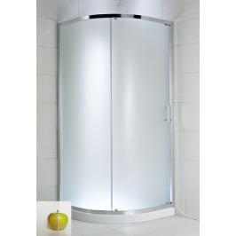 Sprchový kout čtvrtkruh 90x90x195 cm Jika Cubito Pure chrom lesklý H2502420026681