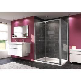 Sprchové dveře 140x190 cm Huppe Next chrom matný 140404.069.322