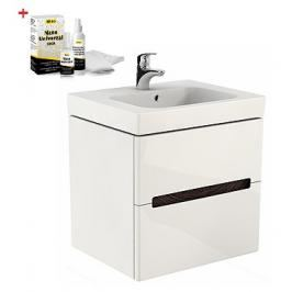 Koupelnová skříňka s umyvadlem Kolo Modo 100x63 cm bílá lesk SIKONKOM100BL