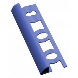 Lišta ukončovací oblá PVC kobaltově modrá, délka 250 cm, výška 8 mm, L825027