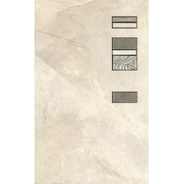 Dekor Ege Alviano bianco 25x40 cm mat ALV01DAN25