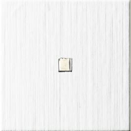 Dekor Imola Blown bílá 10x10 cm, mat BLOWN10W1