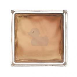 Luxfera Glassblocks bronz 19x19x8 cm sklo 1908WBUR
