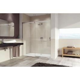 Sprchové dveře 100x200 cm levá Huppe Aura elegance chrom matný 401412.087.322