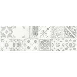 Dekor Rako Majolika šedá 20x60 cm lesk WARVE147.1