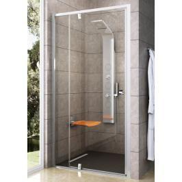Sprchové dveře 100x190 cm Ravak Pivot bílá 03GA0101Z1