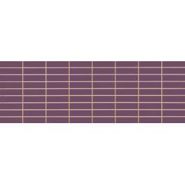 Dekor Fineza Velvet violeta prořez 25x73 cm lesk MVELVETVI