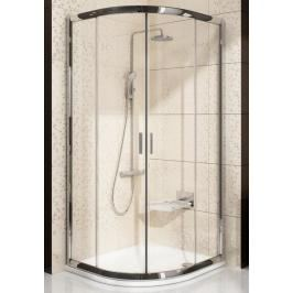Sprchový kout čtvrtkruh 80x80x190 cm Ravak Blix chrom matný 3B240U00ZG