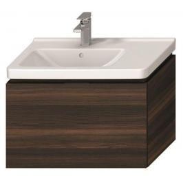 Koupelnová skříňka pod umyvadlo Jika Cubito 74x42,6x48 cm borovice tmavá H40J4253014611