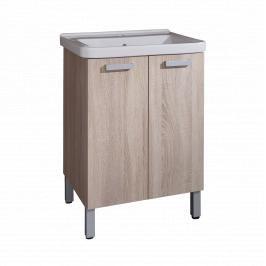 Koupelnová skříňka s umyvadlem Naturel Vario 65x48,5 cm dub bardolino VARIO65DBDB