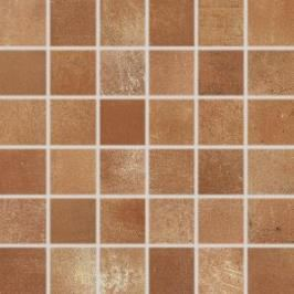 Mozaika Rako Via hnědá 30x30 cm mat DDM05713.1
