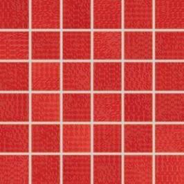 Mozaika Rako Trinity červená 30x30 cm, lesk WDM05093.1