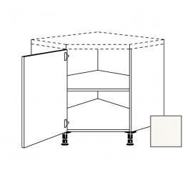 Kuchyňská skříňka rohová spodní Naturel Erika24 90x72x90 cm bílá lesk 450.UED90.L