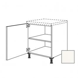 Kuchyňská skříňka s dvířky spodní Naturel Erika24 45x72x56 cm bílá lesk 450.UD45.L