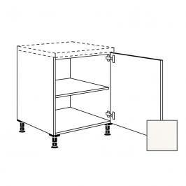 Kuchyňská skříňka s dvířky spodní Naturel Erika24 45x72x56 cm bílá lesk 450.UD45.R
