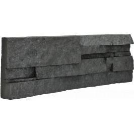 Obklad Vaspo Kámen lámaný tmavě šedá 10,7x36 cm V53006