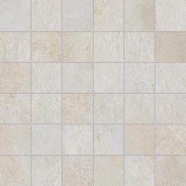 Mozaika Dom Entropia bianco 30x30 cm mat DEN10M