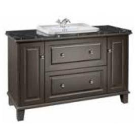 Koupelnová skříňka pod umyvadlo Roca Carmen 130x49,5x83,1 cm antracit A857136417