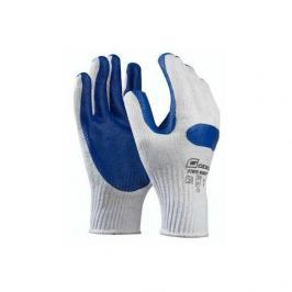 Pracovní rukavice POWER WORKER gumová dlaň velikost 10