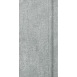 Schodovka Multi Tahiti světle šedá 30x60 cm mat DCKSE513.1