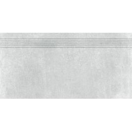 Schodovka Rako Rebel šedá 30x60 cm mat DCPSE741.1