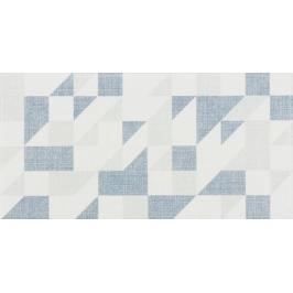 Dekor Rako Tess modrá 20x40 cm mat / lesk WADMB455.1