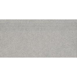 Schodovka Rako Block šedá 30x60 cm mat DCPSE781.1