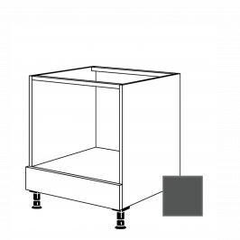 Kuchyňská skříňka pro troubu spodní Naturel Terry24 60x72x56 cm břidlicová šedá 334.HUB