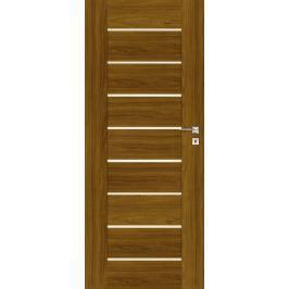 Interiérové dveře Naturel Perma levé 80 cm ořech karamelový PERMAOK80L