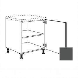 Kuchyňská skříňka s dvířky spodní Naturel Terry24 45x72x56 cm břidlicová šedá 334.UD45.R