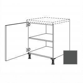 Kuchyňská skříňka s dvířky spodní Naturel Terry24 45x72x56 cm břidlicová šedá 334.UD45.L