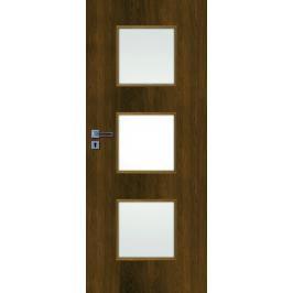 Interiérové dveře Naturel Kano pravé 60 cm ořech karamelový KANO30OK60P