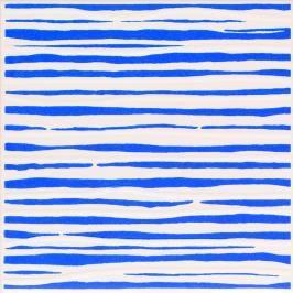 Dekor Fineza Happy modrá 20x20 cm lesk DHAP20BL
