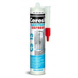 Silikon Ceresit CS 15 bílá 280 ml CS15EX01