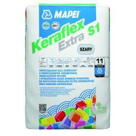Lepidlo Mapei Keraflex Extra S1 šedá 25 kg C2TE S1 KERAFLEXEXTRA