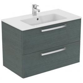 Koupelnová skříňka pod umyvadlo Ideal Standard Tempo 80x44x55 cm dub světle šedý E3242SG