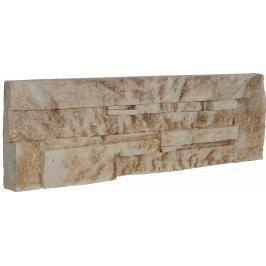 Obklad Vaspo Kámen lámaný béžovohnědá 10,7x36 cm V53004
