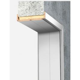 Obložková zárubeň Naturel 90 cm pro tloušťku stěny 18-20 cm bílá pravá O4BF90P