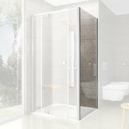 Boční zástěna ke sprchovým dveřím 100x190 cm Ravak Pivot chrom matný 90GA0U00Z1