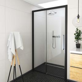 Sprchové dveře 120x205 cm levá Roth Exclusive Line černá matná 564-120000L-05-02