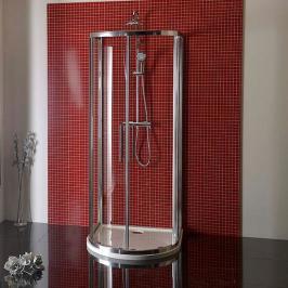Sprchový kout asymetrický 90x90x200 cm Polysan LUCIS chrom lesklý DL3615