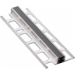 Lišta dilatační hliník šedá, délka 250 cm, výška 10 mm, šířka 12 mm, ALDL122504