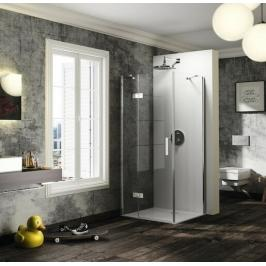 Sprchové dveře 120x200 cm levá Huppe Solva pure chrom lesklý ST0610.092.322