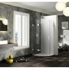 Sprchové dveře 90x90x200 cm levá Huppe Solva pure chrom lesklý ST3801.092.322