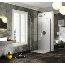 Sprchové dveře 80x200 cm levá Huppe Solva pure chrom lesklý ST2506.092.322
