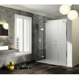 Sprchové dveře 130x200 cm levá Huppe Solva pure chrom lesklý ST1403.092.322