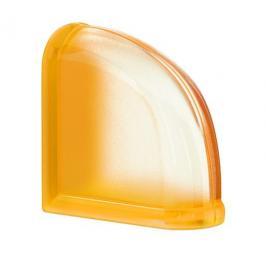 Luxfera Glassblocks MiniGlass meruňková 15x15x8 cm sklo MGSCEAPR